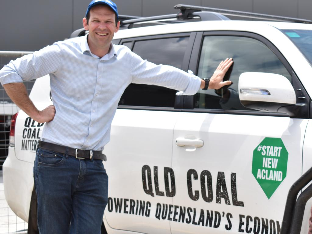 Senator Matt Canavan has been a vocal opponent of the Greens Party of the years.