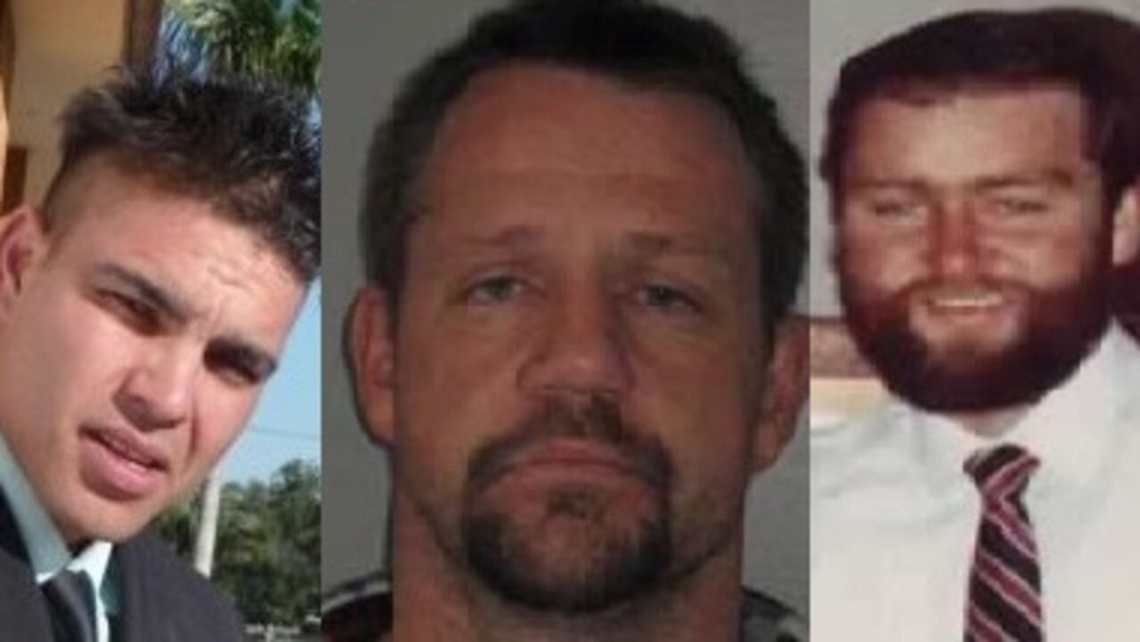 Gympie's Kenneth Gallaher, jason hazelgrove and Lawrence Phillips all vanished without a trace.