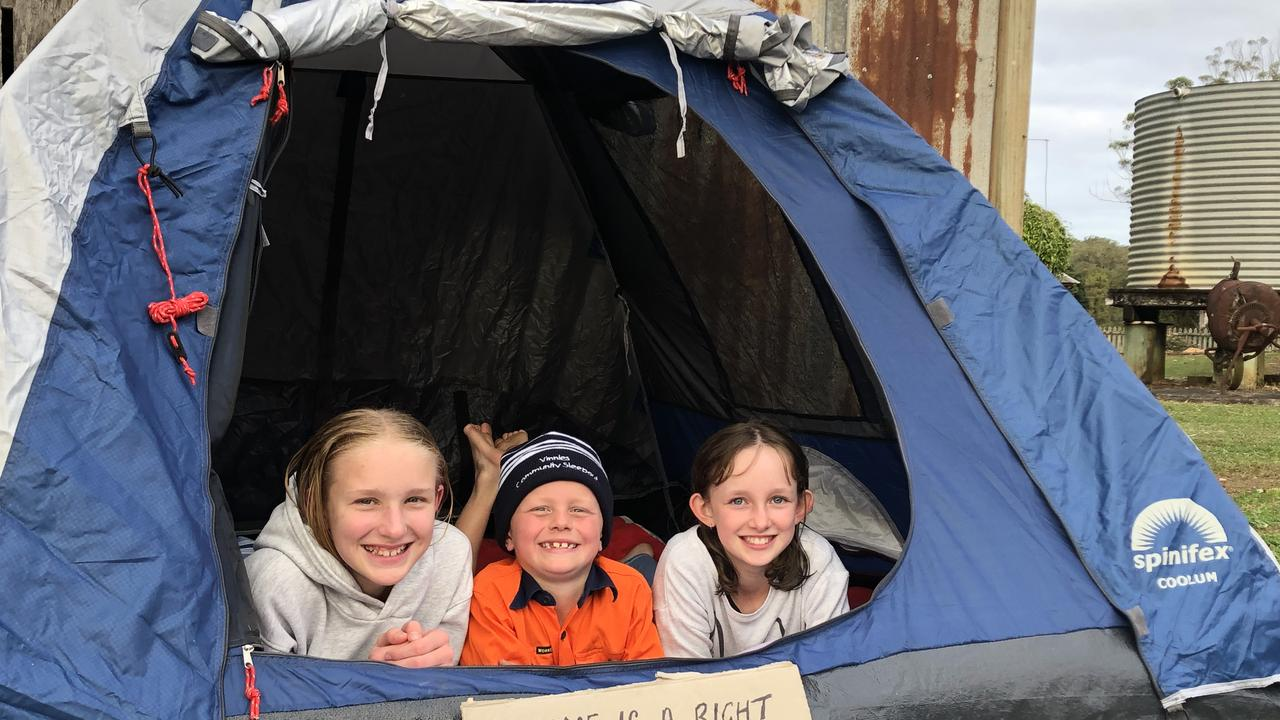 Vinnies sleep out fundraiser took place in Tweed Heads at Fred's Place. Photo: generic