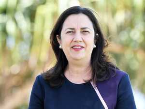 Palaszczuk snaps over borders