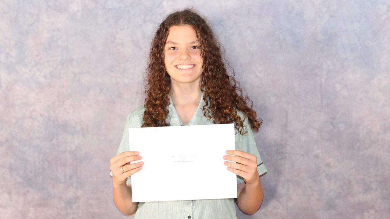 Proserpine State High School Year 10 ADF Future Innovators Award winner Sharvani McCoombes. Picture: Supplied