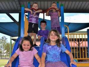 PICTURES: School students 'Go Purple' for Jacaranda