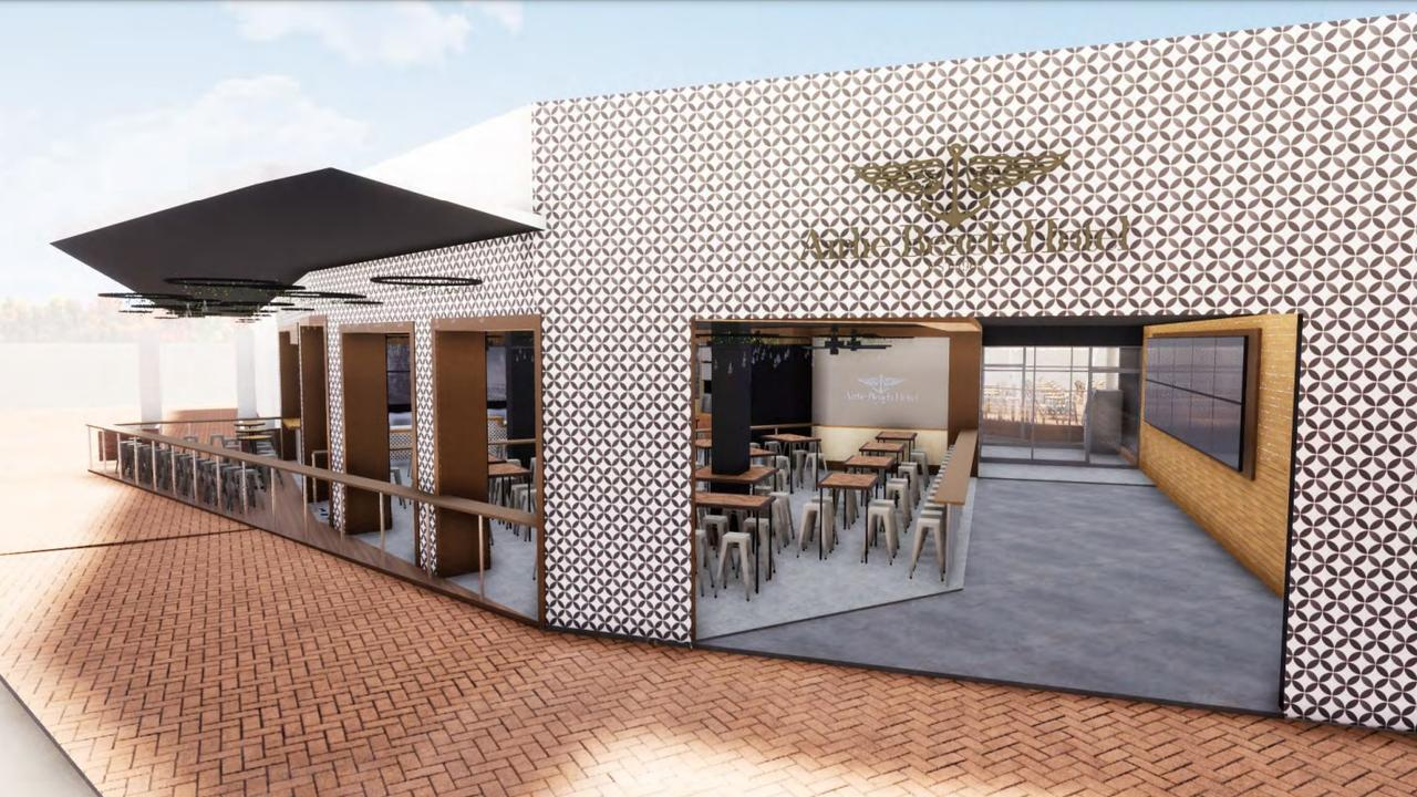 The Airlie Beach Hotel is set to expand into two more shops. Picture: Supplied