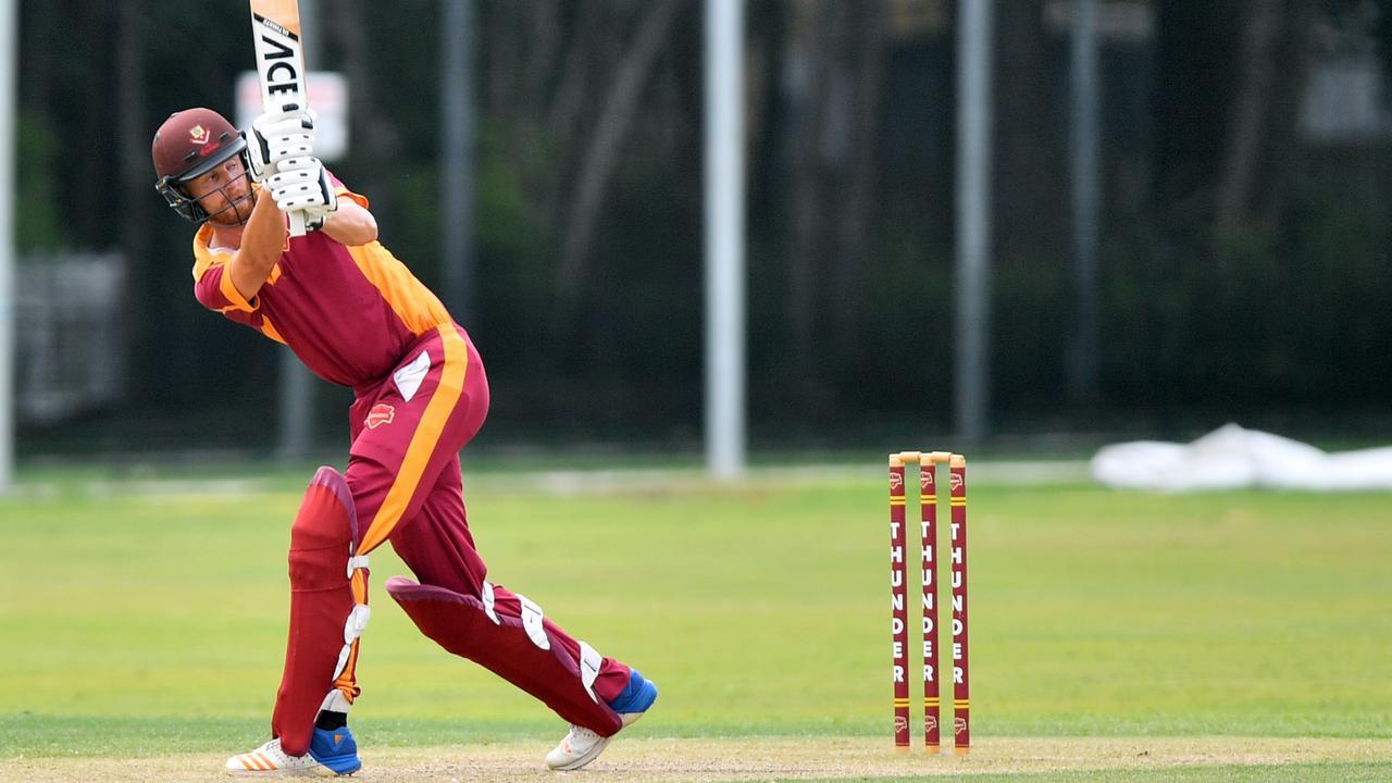 Sunshine Coast Division 1 cricket action in Tewantin between Tewantin/Noosa and Maroochydore. Scott Aufderheide. Picture: John McCutcheon / Sunshine Coast Daily