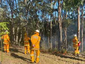 Eight fire crews on scene battling Western Downs bushfire