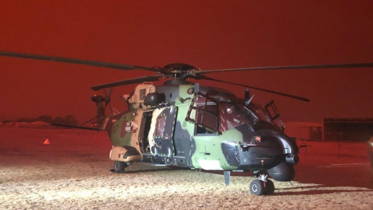 Australian Army 6th Aviation Regiment MRH90 Taipan.