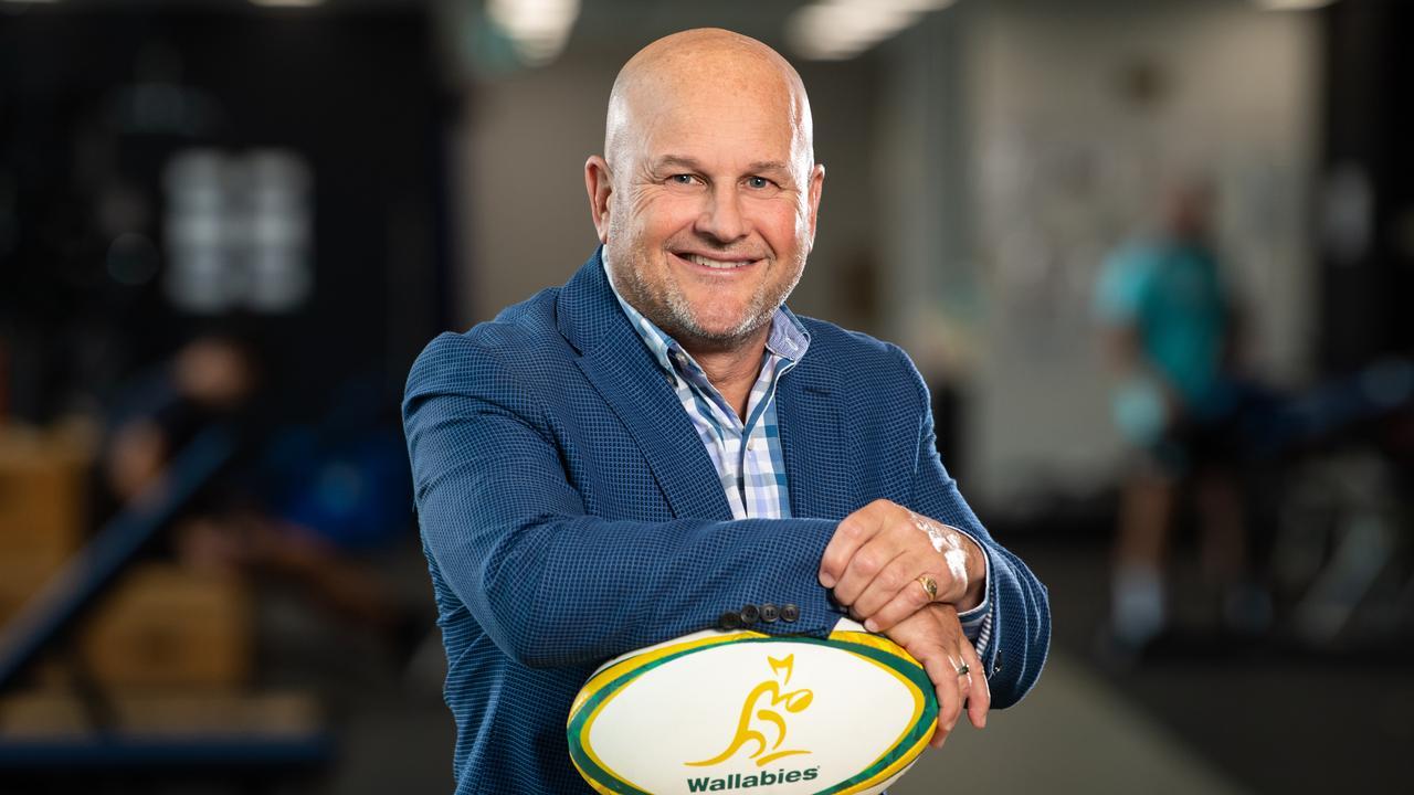 Rugby Australia CEO Rob Clarke. Photo: Stuart Walmsley/Rugby Australia