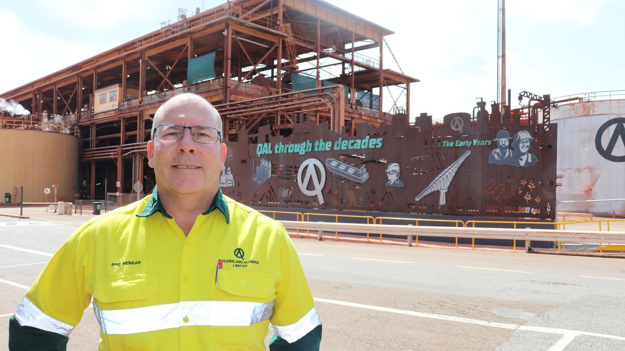 QAL Gladstone General Manager Pine Pienaar.