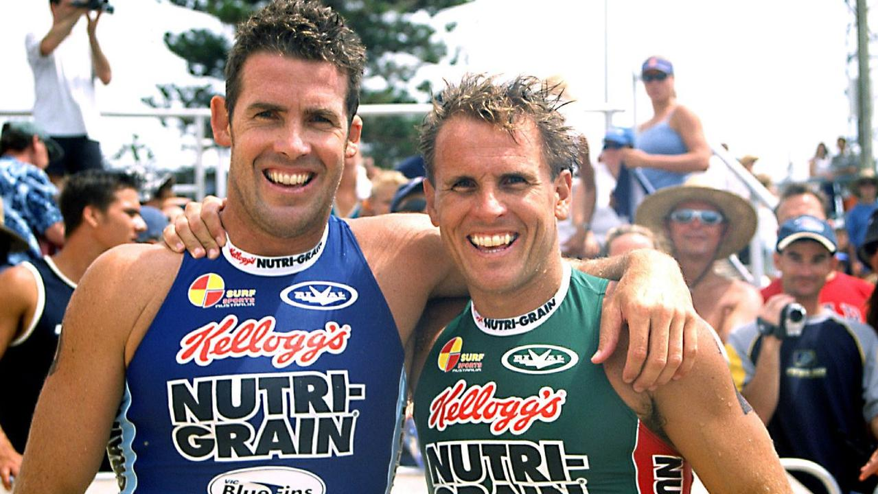 Noosa Heads Surf Life Saving Club legend Darren Mercer (left, pictured with late brother Dean) has been inducted into the Surf Life Saving Australia Hall of Fame.