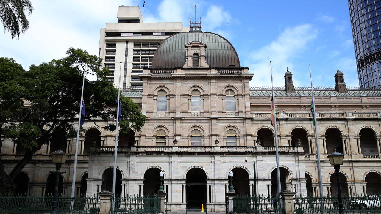 Parliament House in Brisbane. Pics Tara Croser.