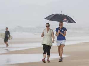 Rainy skies cool down region for wet weekend