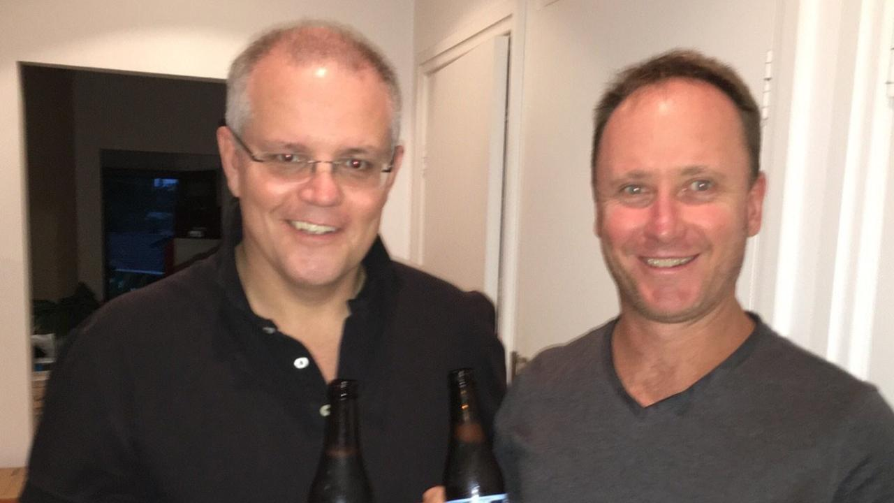 Sister of QAnon booster Tim Stewart says he's old friends with Prime Minister Scott Morrison