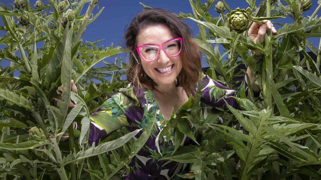 Alice Zaslavsky has written a modern encylopedia of vegetables. Picture: Wayne Taylor