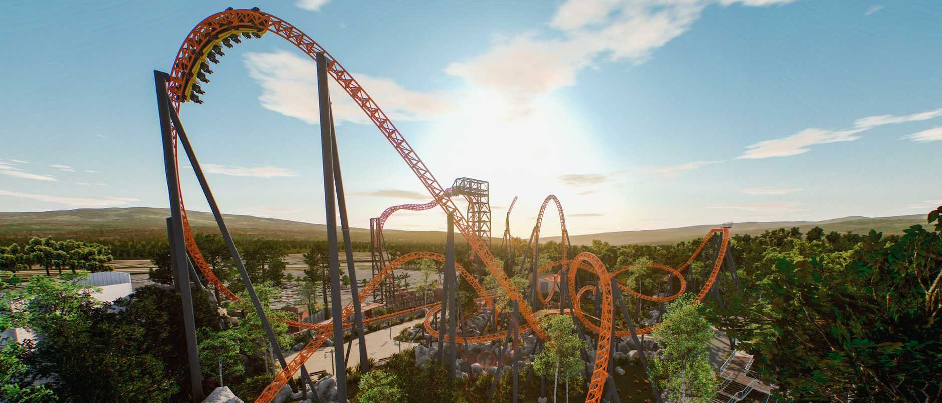 Dreamwold has announced it will start work on its new flagship $32m thrill ride. WATCH THE CRAZY POV VIDEO.