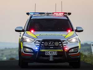 Teen rushed to hospital after motorbike crash east of Chinchilla