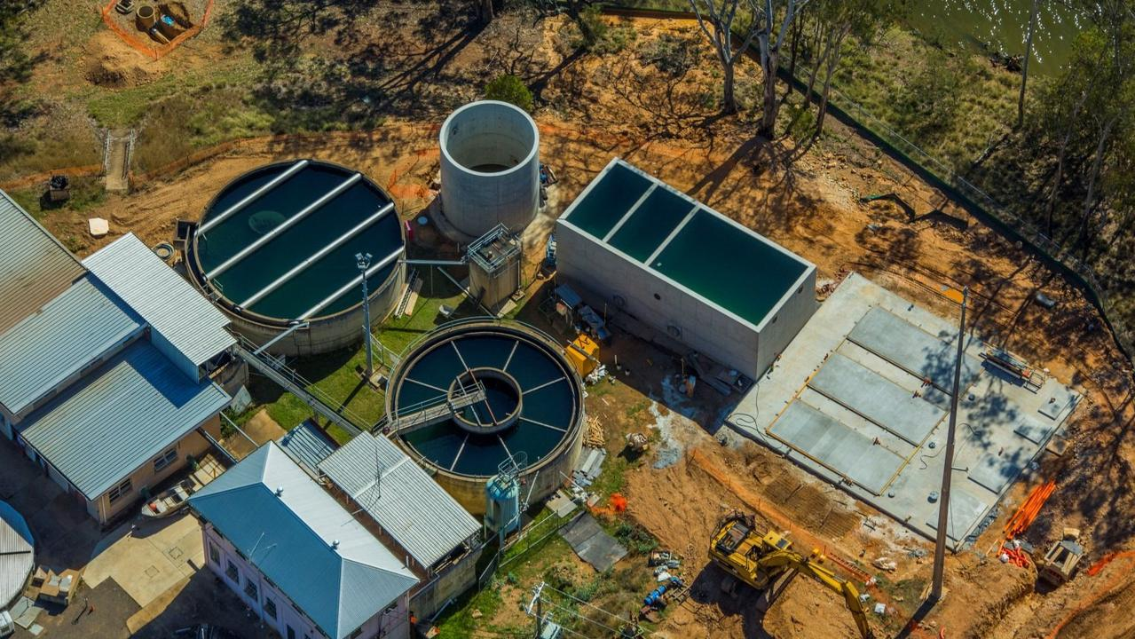 The Gordonbrook Water Treatment Plant. Picture: Supplied