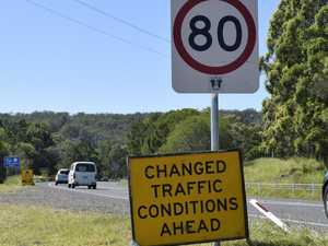 Changed traffic conditions for Woolgoolga to Ballina upgrade