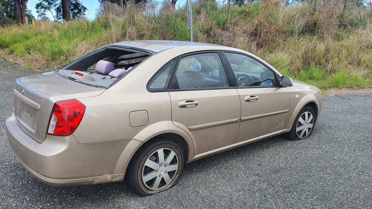 A man has been arrested following a high-speed chase north of Coffs Harbour.