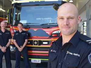 Bushy beards, not bushfires testing Mackay firefighters