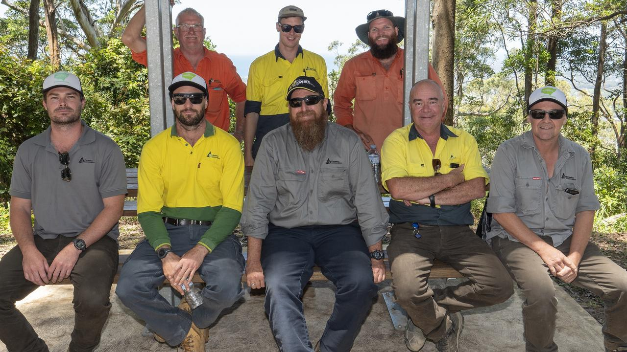 Forestry Corporation recipients of NSW Bushfire Emergency Citations in Coffs Harbour.