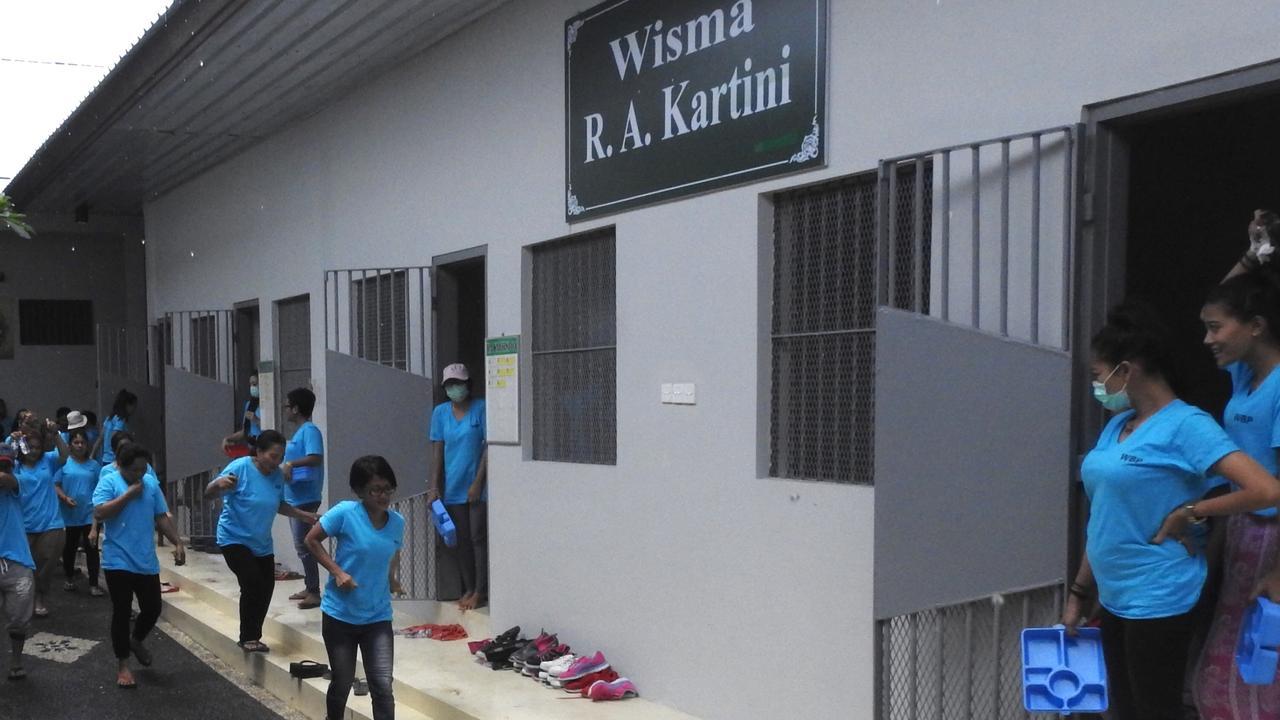 The cell inside the new Kerobokan Women Prison where Australin Sara Connor was jailed.