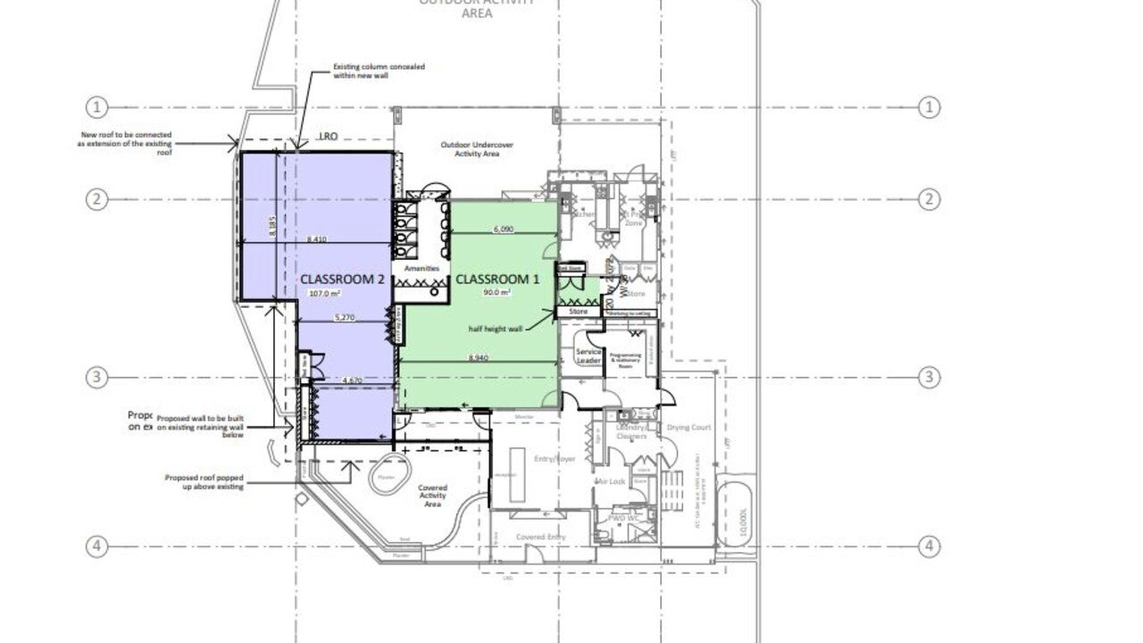 St Peters Lutheran College Springfield has submitted a development application to Ipswich City Council to extend its on-site Kindy centre.