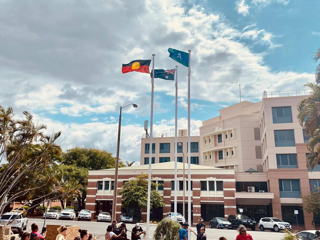 NAIDOC WEEK: Annual festivities in honour of NAIDOC Week 2020 kicked off on Sunday with a flag-raising ceremony at Rockhampton City Hall.
