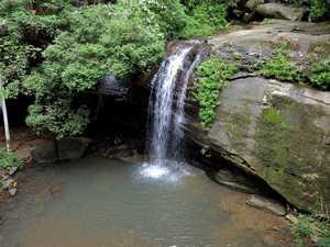 Person slips, injures leg while chasing waterfalls