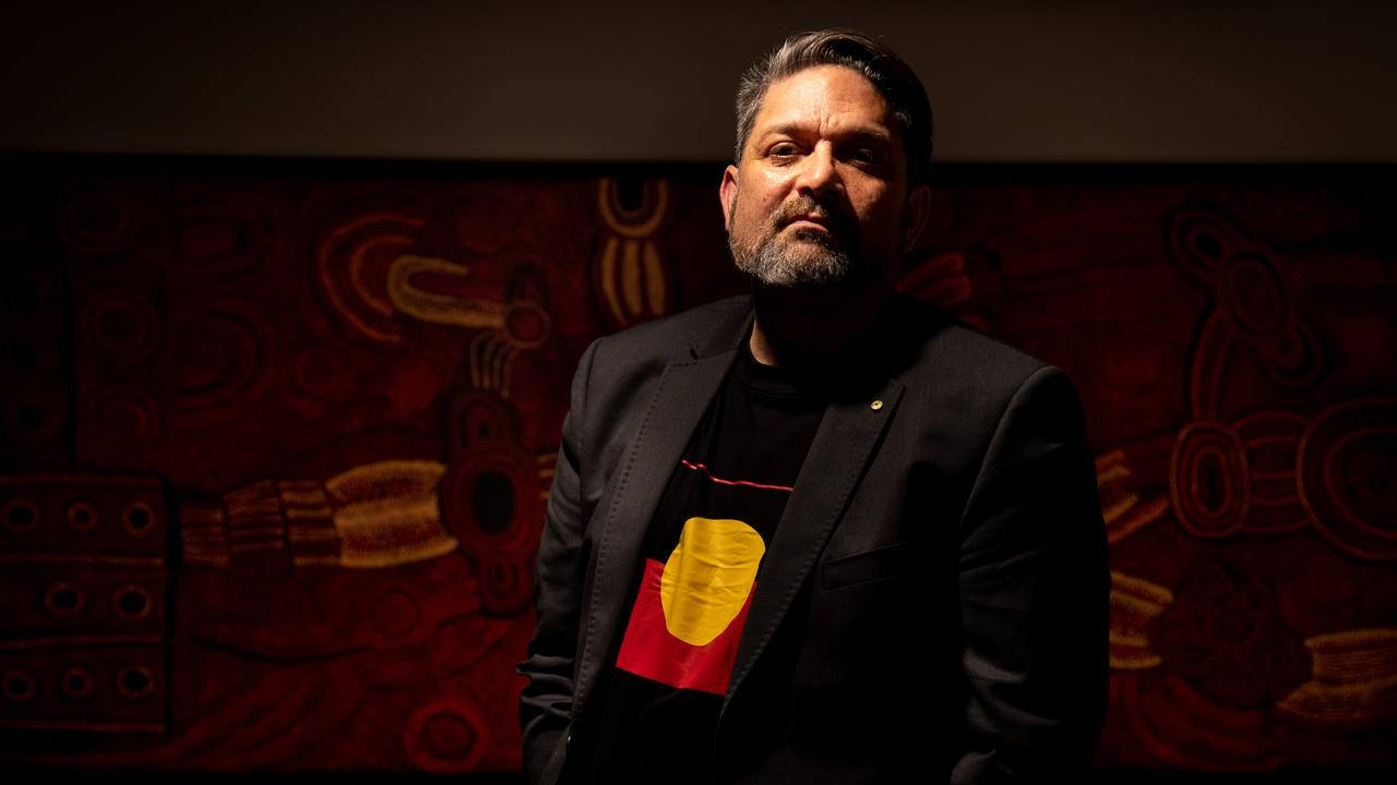 Wesley Enoch has attached Queensland Theatre for its lack of Indigenous programming. Picture Ryan Osland