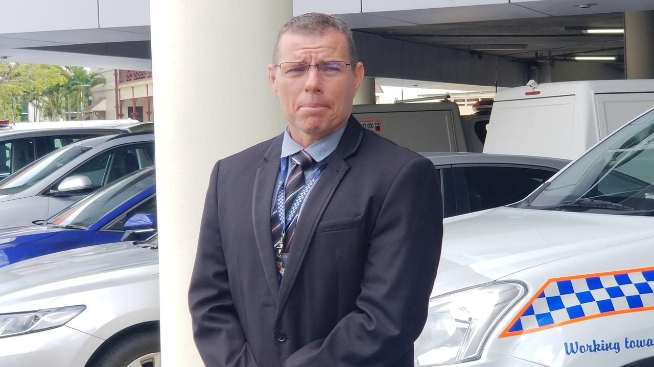 Officer in Charge of Rockhampton CPIU Detective Senior Sergeant Damien Smith.