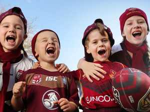 Queenslander chant to spur on Maroons women