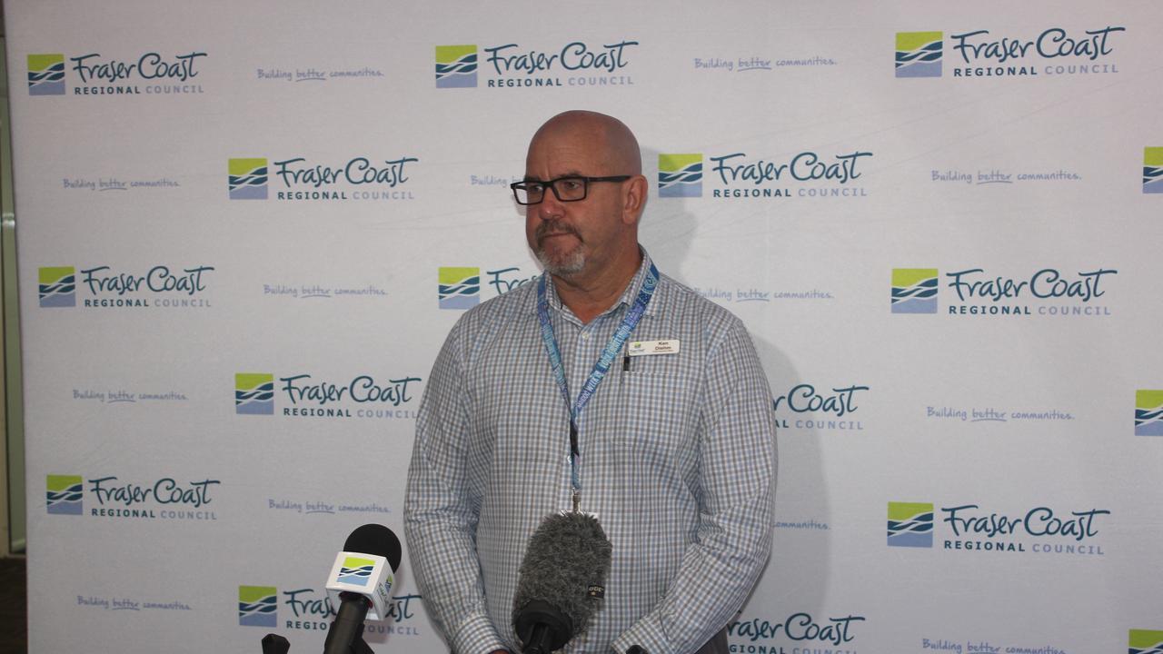 Fraser Coast Regional Council Ken Diehm wants HQPlantations to fix a dangerous bridge.