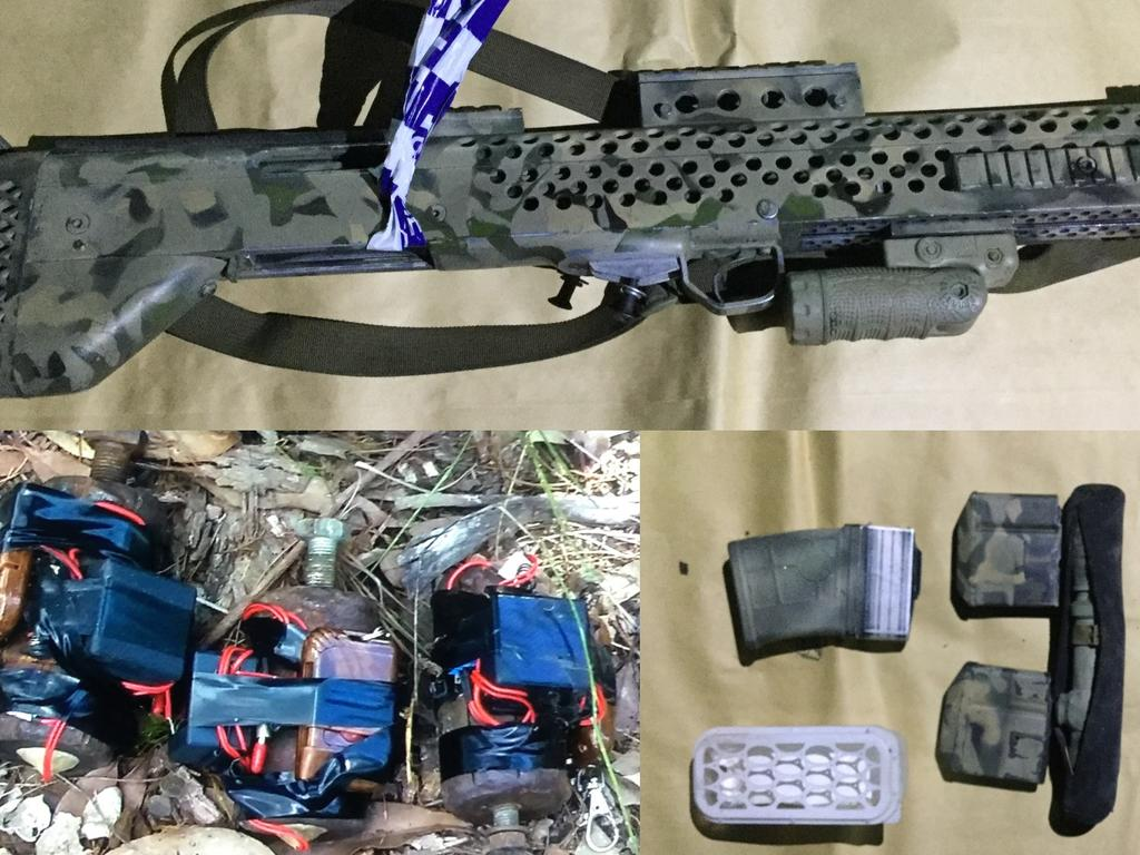 A Sunshine Coast man faced court today after the Queensland Joint Counter Terrorism Team charged him with firearm offences.