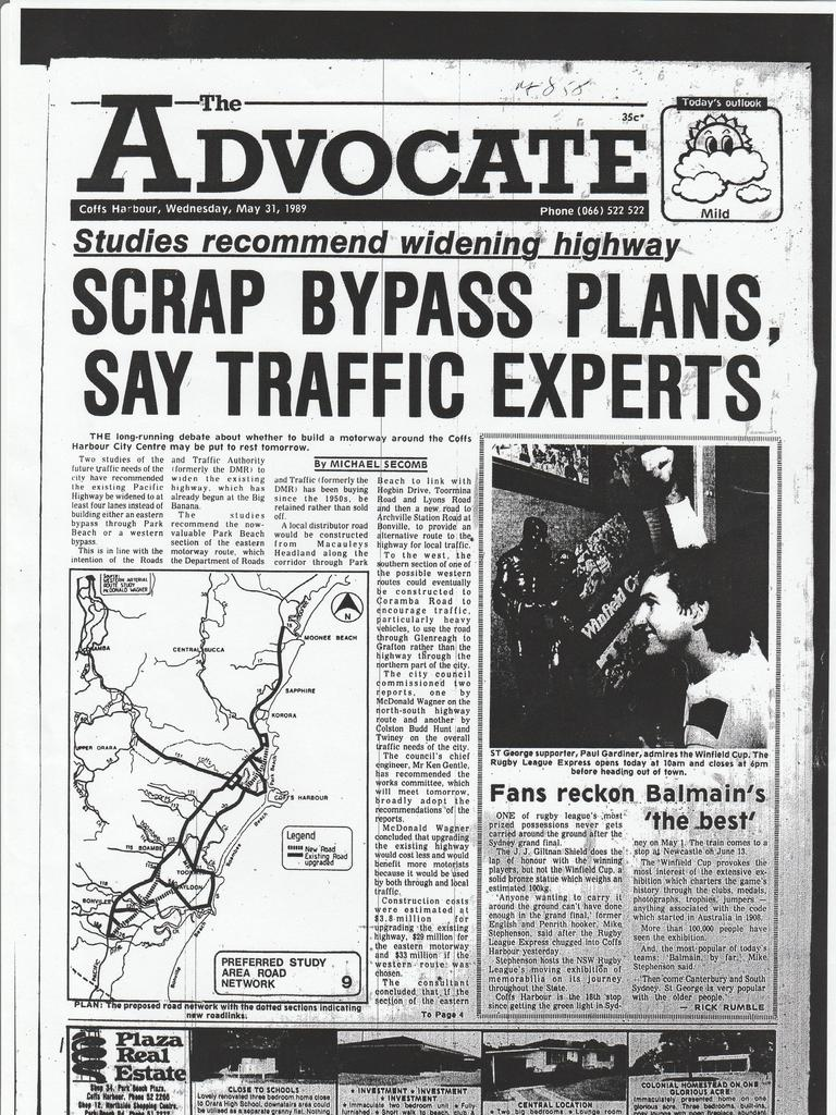 The Coffs Harbour community has been waiting for decades for a bypass.