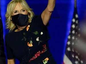 Hidden nod behind Jill's election dress