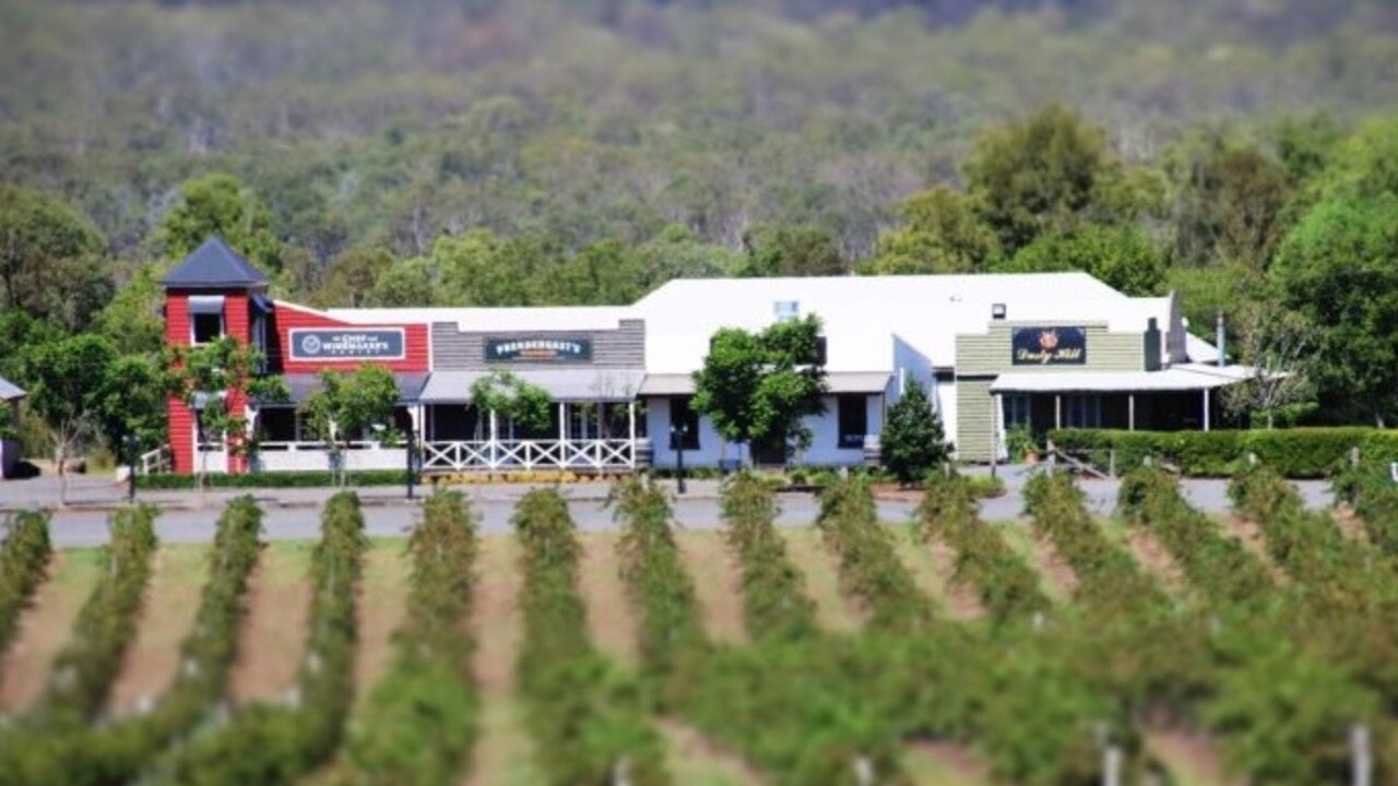 Dusty Hill Wines at Moffatdale just west of Gympie