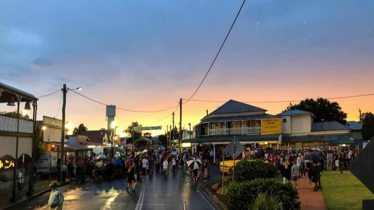 Forest Hill Christmas Festivities in full swing in 2019. Photo: Kate Brimblecombe