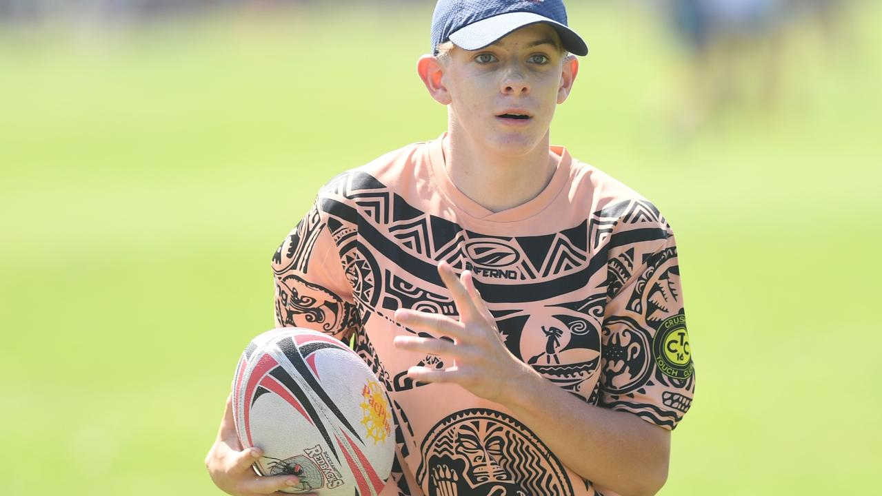 Hundreds of games were played across the four age divisions at the Rockhampton Touch Association's Red Rooster Junior Carnival at the weekend. Photo: Jann Houley