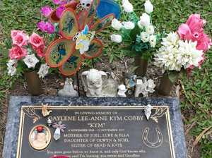 Murdered mum's family 'gutted' after grave cleared