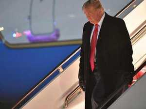 'Hoax!': Defiant Trump refuses to budge