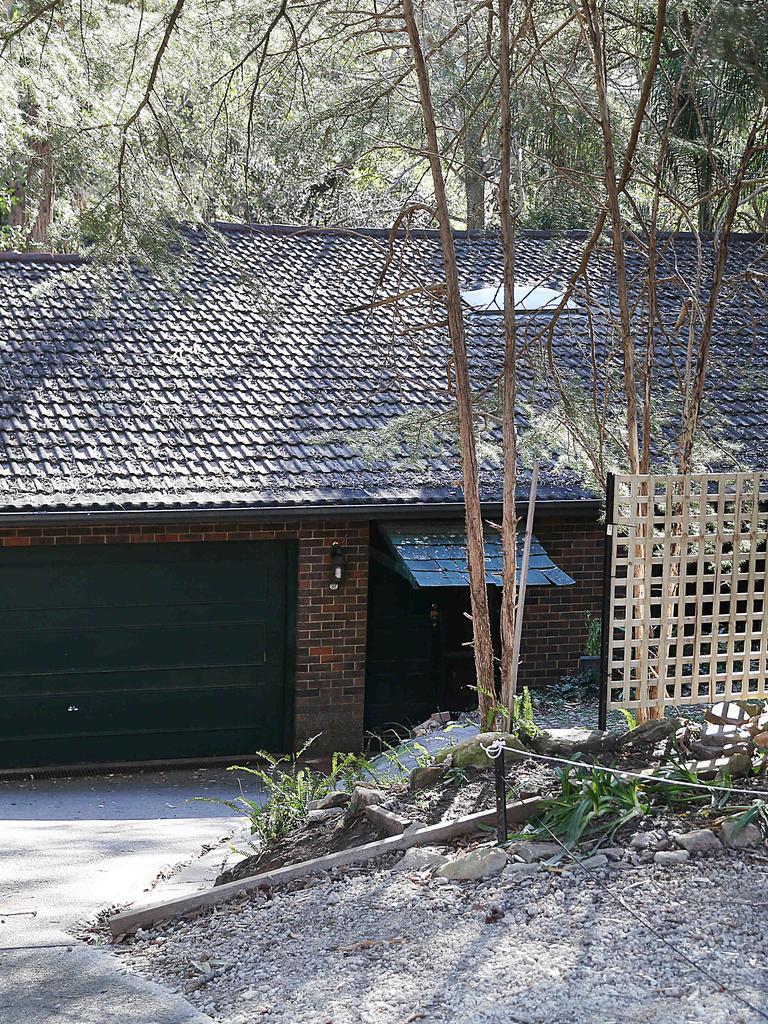Exterior of Edward's Normanhurst home.