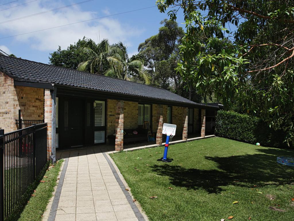 The Davidson home of Fernando Manrique and wife Maria Claudia Lutz.