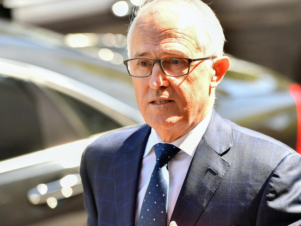 Former prime minister Malcolm Turnbull put a 'bonk ban' on staffers. Picture: AAP Image/POOL/Mick Tsikasvia NCA NewsWire