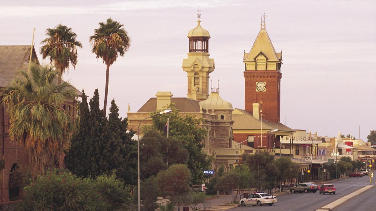 The main street of Broken Hill.
