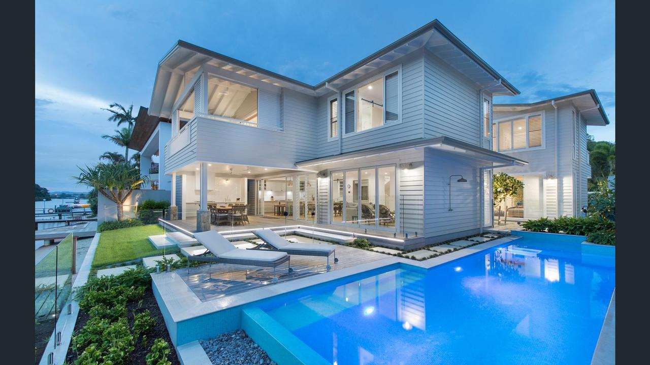 Owners of neighbouring Noosa properties 43 and 45 Witta Circle have applied to demolish the multimillion-dollar properties.