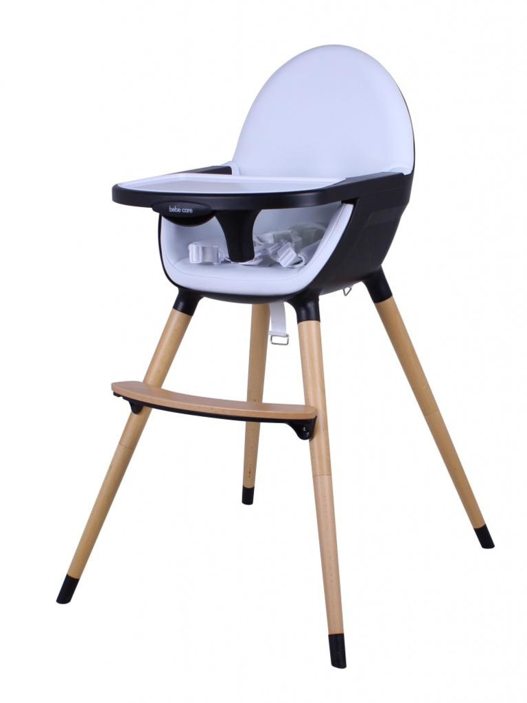 The Bebecare Pod Nui High Chair - Snow Flake 095102-378. Picture: Supplied