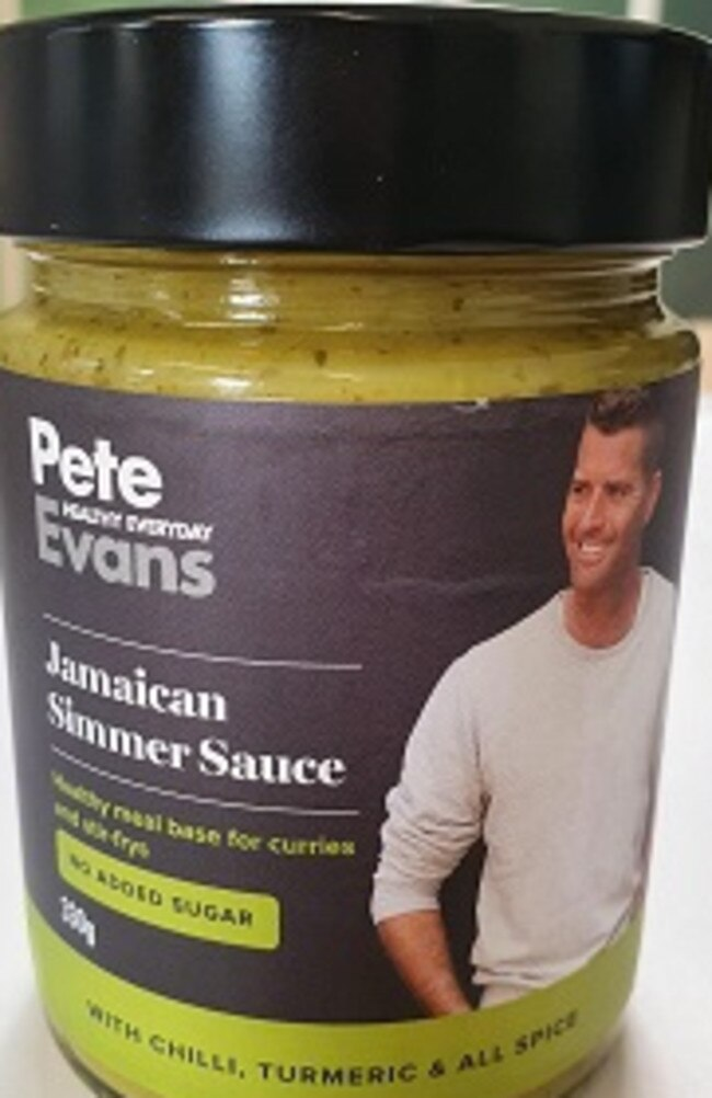 Pete Evans Healthy Everyday Jamaican Simmer Sauce has been recalled.