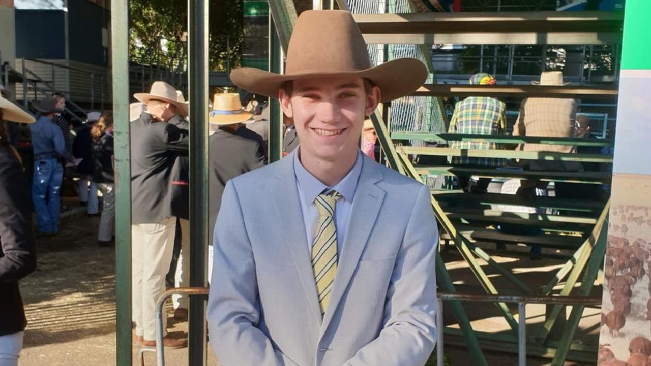 Coen Michael Fry, 20, died in a car crash at Harlin on Monday morning.