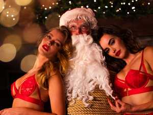 Racy pics: Honey Birdette on Santa's naughty list