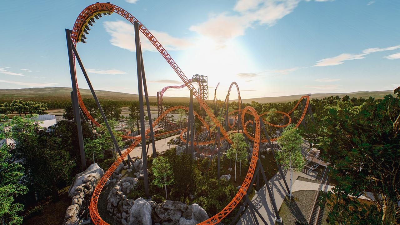 Dreamworld's $32 million Roller Coaster